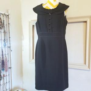 Tahari Arthur S Levine classic black dress 12P